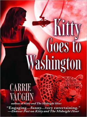 cover image of Kitty Goes to Washington